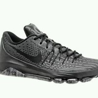 New kids deal! $180 Nike KD 8 VIII Low Basketball Shoes Black - sz 6.5