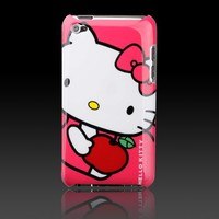 "Hello Kitty Apple Red ""Images"" hard case cover for Apple iPod Touch 4 4G"