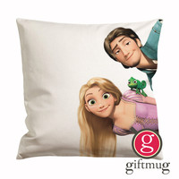 Crooked Disney Tangled Cushion Case / Pillow Case