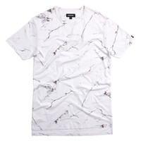 Flintlock T-Shirt White Marble