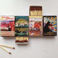 VHS Tape Matchbox - Wes Anderson Collection