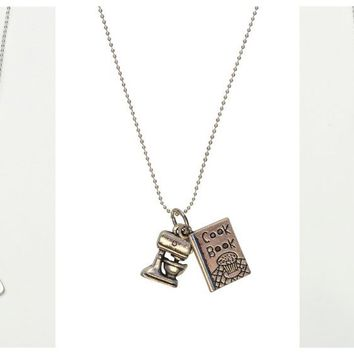 Baker Lover Necklaces-7 Styles-Perfect Valentines Day Gifts