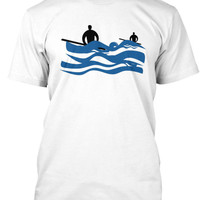 the Waiting Game, Men's Surf Shirt