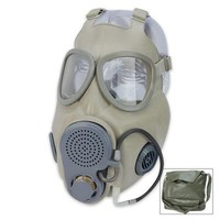 Czech M10M Gas Mask With Filter & Drinking Tube