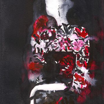Beauty Watercolor Painting