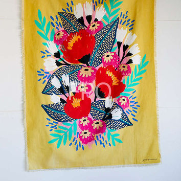 Jess Phoenix Artist Series Jungle Bird Tapestry - Urban Outfitters
