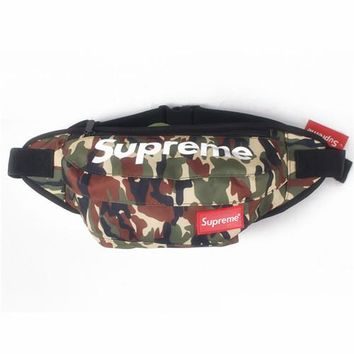 Men's and Women's Supreme Chest Pockets Oxford Casual Riding Bag 028