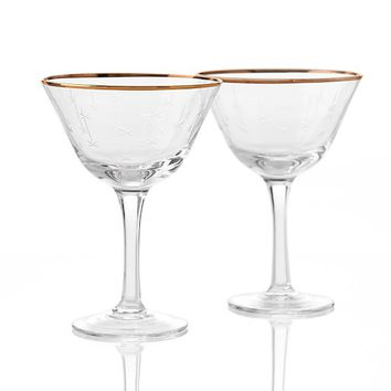 Stella Falling Star Champagne Coupe, Set of 2