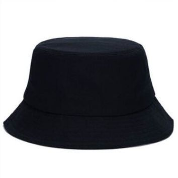 which in shower plain bucket hat for women men cotton solid panama outdoor casual summer sun hat female male beach fishing cap