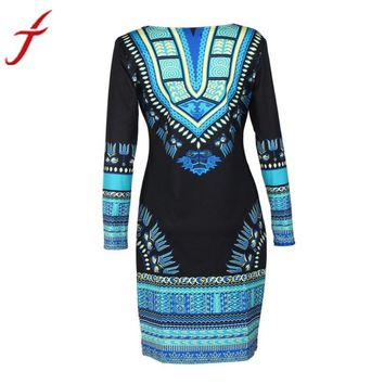 Traditional African Dress Large Sise Print Dashiki