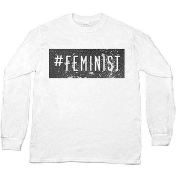 #Feminist -- Unisex Long-Sleeve