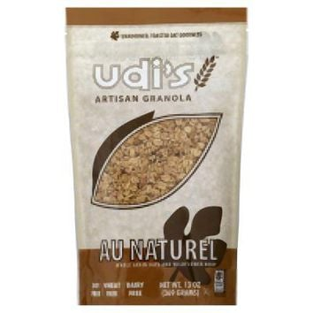 Udis: Au Naturel Whole Grain Oats And Wildflower Honey, 13 Oz