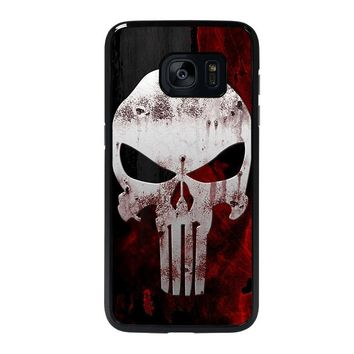 THE PUNISHER SKULL Samsung Galaxy S7 Edge Case Cover