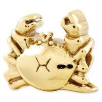 Reflection Beads Sterling Silver Reflections Crab Bead (11 x 10 mm)