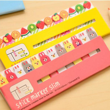 1PCS Lot NEW number 560 Animal series Sticky Notes stick marker Post notepad memo zakka stationery office School supplies