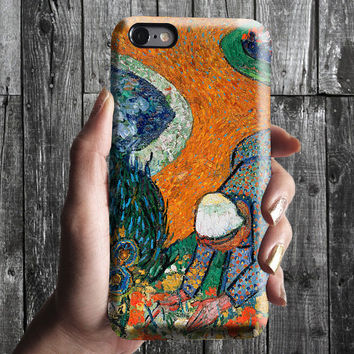 Memory of Garden of Eden - Van Gogh iPhone Case 6, 6S, 6 Plus, 4S, 5S. Phone Cell. Art Painting. Gift Idea. Anniversary. Gift for him/her