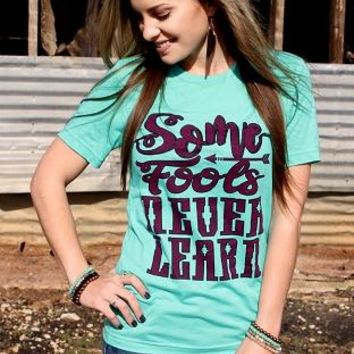 Some Fools Tee by Crazy Train