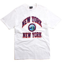 New York New York T-Shirt White