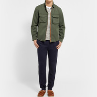 Band of Outsiders - Zipped Cotton-Twill Overshirt | MR PORTER