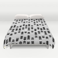 Minimalism 13 Duvet Cover by Mareike Böhmer Graphics