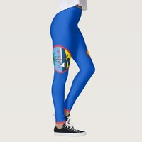 Leggings with flag of Guam, USA