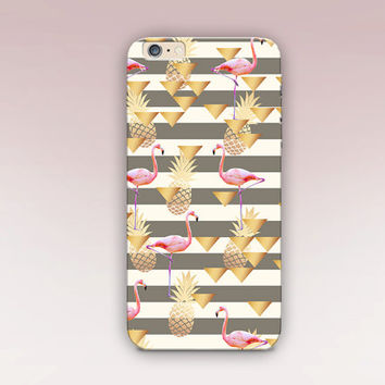 Flamingo Phone Case For - iPhone 6 Case - iPhone 5 Case - iPhone 4 Case - Samsung S4 Case - iPhone 5C - Tough Case - Matte Case - Samsung