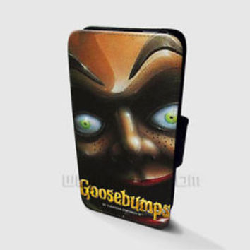 Goosebumps Wallet iPhone Cases Goosebumps Samsung Wallet Leather Phone Cases