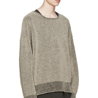 Indie Designs Kanye West Favorite Yeezy Oversize Boucle Sweatshirt