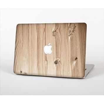 """The LIght-Grained Wood Skin Set for the Apple MacBook Pro 13"""""""