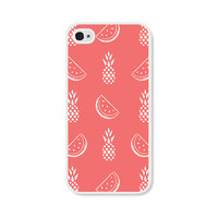 iPhone Case Watermelon iPhone 5c Case - Pineapple iPhone 5c Case Pineapple iPhone 5 Case Watermelon iPhone 5s Case Coral Pink iPhone 4 Case