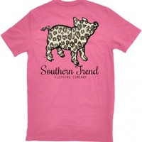 Leopard Pig Pocket T-Shirt