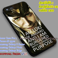 Loki's Quote iPhone 6s 6 6s+ 6plus Cases Samsung Galaxy s5 s6 Edge+ NOTE 5 4 3 #movie #disney #animated #marvel #comic dl5