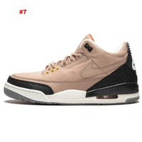 Nike Air Jordan 3 Basketball Shoes Luxury Brand Designer Shoes Sneakers Women's Sports Shoes Men's Trainers with Box