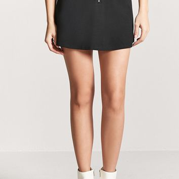 Pull-Ring Mini Skirt