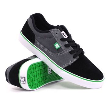 DC Bristol (Black/Battleship/Emerald) (DC 303060-BSE), Skate Shoes | Skateboard Footwear