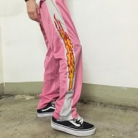 FLAME CROSS PANTS