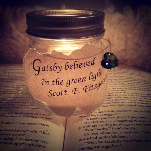 Quote mason jar candle holder quot the from daretodaret on etsy