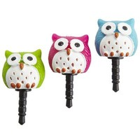 Earphone Jack Jewelry - Owls