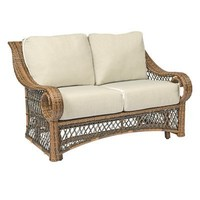 Woodard 6Z0073 Belmar Gliding Loveseat Garden Love Set  - Outdoor Living Showroom