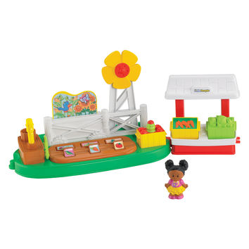 Fisher-Price Little People Farm Garden and Stand