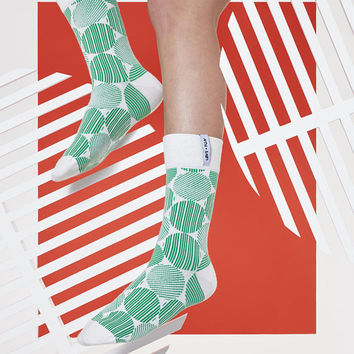 LØVE + FUN Socks First Season - Roundy Series Green