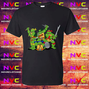 Teenage Mutant Ninja Turtles tshirt -Tshirt Unisex Adult, Tshirt Youth, kids clothes, Mens Tshirt, Womens Tshirt, Boys tshirt, Girls tshirt