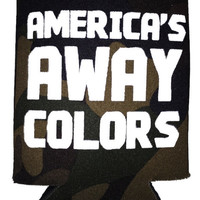 'Camo: America's Away Colors' Koozie