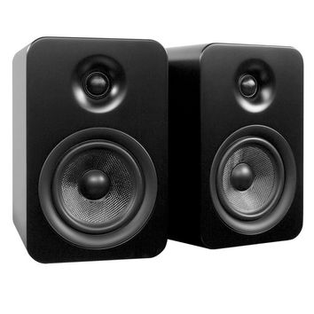 Kanto: Yumi Passive Bookshelf Speakers - Matte Black (YUMIP-BLK)