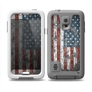 The Vintage USA Flag  Skin Samsung Galaxy S5 frē LifeProof Case