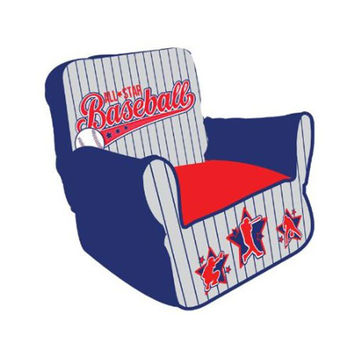Komfy Kings, Inc 35027 Newco Kids Baseball All Star Bean Chair
