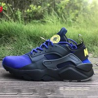 Nike Huarache Fashion Camouflage Sneakers Running Sneakers Sport Shoes Blue