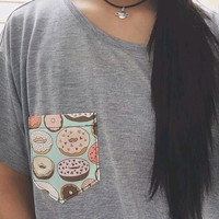Donut Pocket Tee