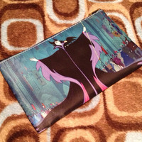 Maleficent Sleeping Beauty Dragon Double Sided Cosmetic Bag