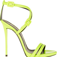 Giuseppe Zanotti - Neon leather sandals